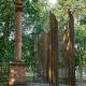 Einweihung der Kunstinstallation im Gedenken an Opfer der Marburger Jäger am 1. September