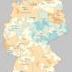 Corona verändert räumliche Bevölkerungsverteilung in Deutschland