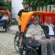Aktionstag Marburg mit der Fahrrad-Rikscha entdecken