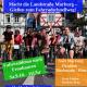 Demonstration Landstraße zwischen Marburg und Gießen als Fahrradschnellweg