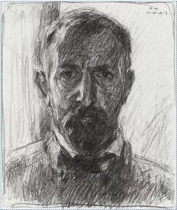 Selbstportrait Otto Ubbelohde