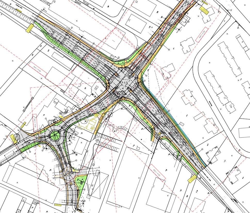 Karte Kreuzungsbereich