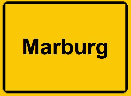 Das Marburger Online Magazin Marburg Ortsschild
