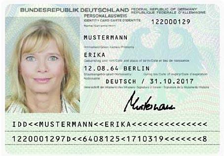 wie teuer ist ein neuer personalausweis