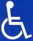 Pictogramm Rollstuhl