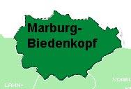 Karte Marburg-Biedenkopf