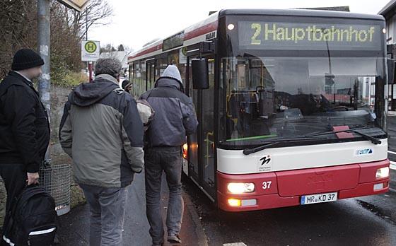 Das Marburger Online Magazin Marburger Buslinie 2 Mit