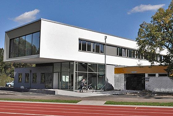 Das Marburger Online Magazin Jahnstadion Erweiterungsbau
