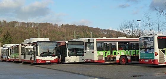 Das Marburger Online Magazin Streik Busse Z0308