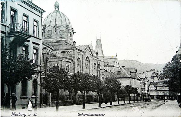 Das Marburger Online Magazin Synagoge Marburg In Der