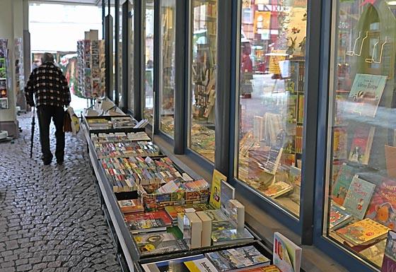 Das Marburger Online Magazin Dbax1230 Buchhandlungs Passage