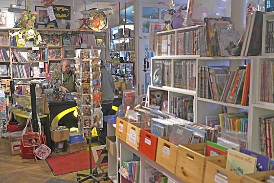 Das Marburger Online Magazin Dbax1230 Comicladen