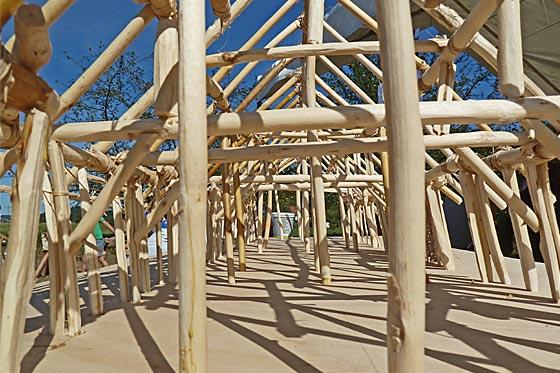 dbaz0909_0010 Holzkonstruktion Hausbau
