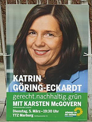 Plakat Goering-Eckardt