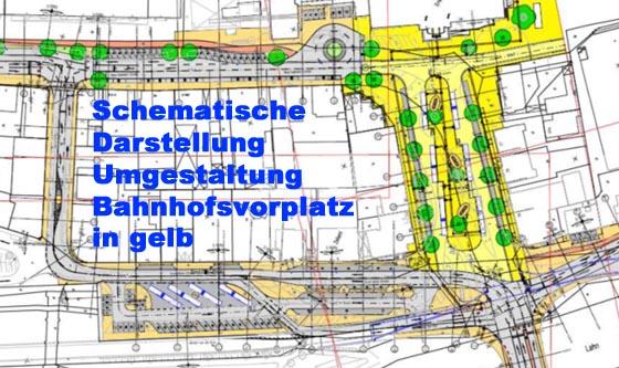 Umgestaltung Bahnhofsvorplatz