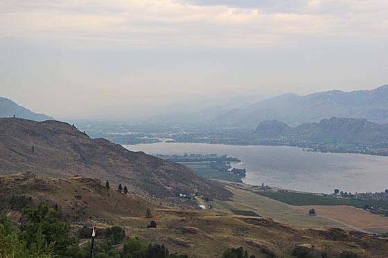 Blick auf Osoyoos Lake