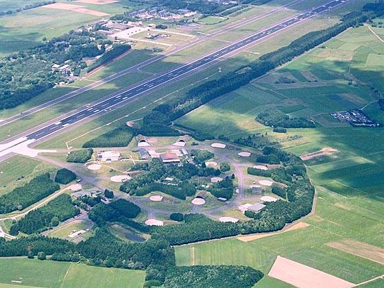 Der Fliegerhorst in Büchel in der Eifel. Foto Wikipedia