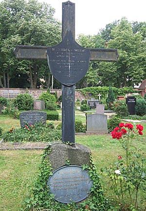 Das Grab von Grab Ludwig Weidig .Bildquelle Wikipedia