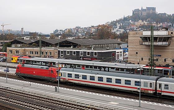 Bahnof Marburg Foto Juergen Lerch