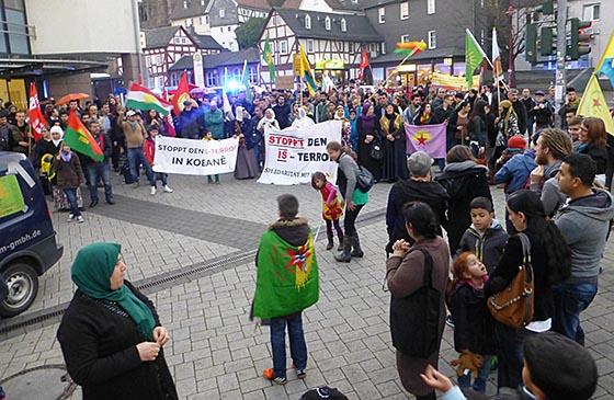 Demo Marburg Heute