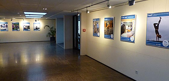 Ausstellung Plakate Wir haben eine Stimme