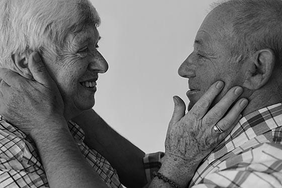 Alter und Liebe Foto Winfried Eberhardt
