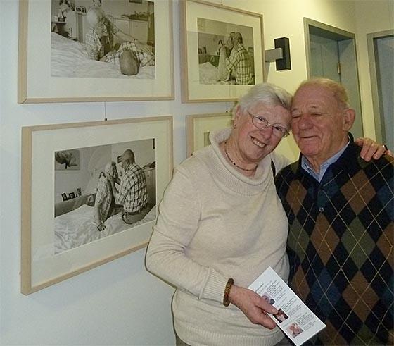 Elisabeth und Willi Schultheiss... Foto Klaus Richter