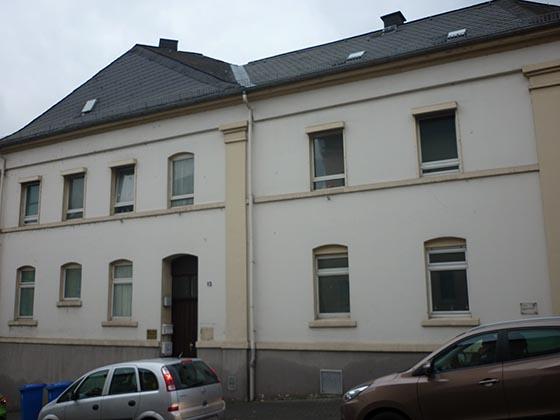 Lehmhaus in der Limburger Straße 13.