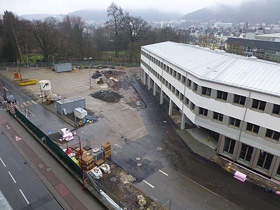Wenn ein Gebäude für das Bildarchiv Foto Marburg und ein Hörsaalgebäude im Bereich des früheren Brauereigeländes platziert werden, wird es sehr eng und der Alte Botanische Garten wird nahezu vollständig umzingelt sein, moniert die IG MARSS zu den aktuellen Ausbaupläen der Philipps-Universität. Sternbald-Foto Hartwig Bambey