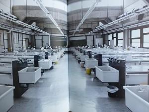 Laborraum in den Biolgischen Instituten. Fotografien von Tania Reinicke und Ekkehart Bussenius. Repro Hartwig Bambey
