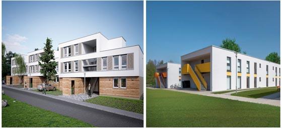 Familienheim Schwarzwald-Baar-Heuberg eG . Foto aus Detail – Zeitschrift für Architektur + Baudetail