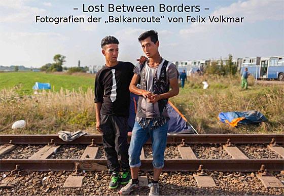 Ausstellung Lost betrween borders