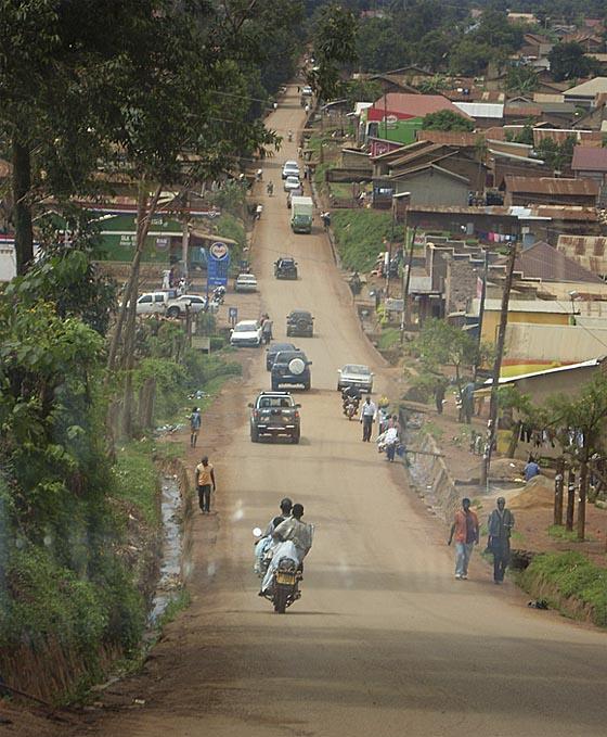 Das Projektteam um Dr. Ulrike Krause von der Philipps-Universität forscht unter anderem in der ugandischen Hauptstadt Kampala, wo viele Flüchtlinge leben. Foto Ulrike Krause