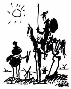 Pablo Picasso Don Quixote