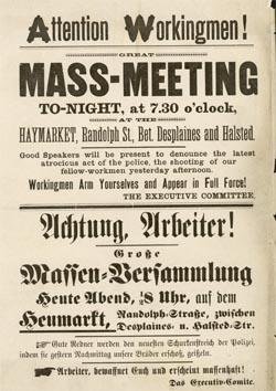 Plakat Haymarket