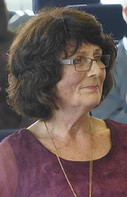 Dr.Elke Therre-Stahl, Abgeordnete für die GRÜNEN in der Marburger Stadtverordnetenversammlung.