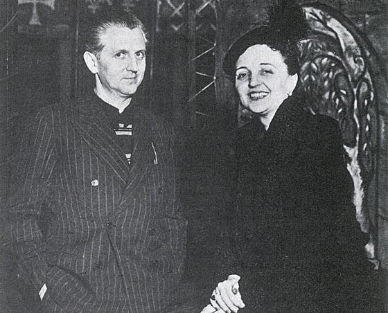 Erwin Piscator und seine Frau Maria Ley-Piscator – eine Matinee am 5. Juni widmet sich ihrem Werk und Leben. Foto Archive, Sammlungen und Bibliotheken der Akademie der Künste, Berlin, Erwin-Piscator-Center