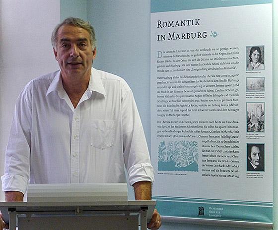 Sagen sind keine Märchen und haben oft lokale Wurzeln, wie Prof. Siegfried Becker im einführungsvortrag veranschaulichte. Sternbald-Foto Hartwig Bambey