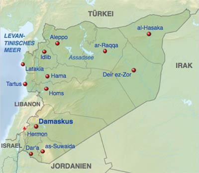 Syrien Karte Mit Städten.Das Marburger Online Magazin Der Krieg Geht Weiter Mit